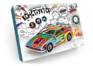 Конструктор 3D расписной Авто