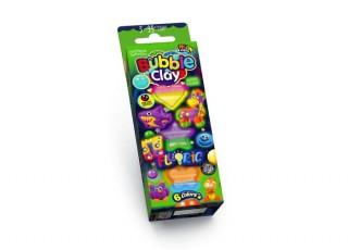 Пластилин шариковый Bubble Clay FLUORIC, 6 цветов. Набор № 1
