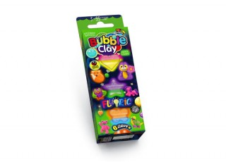 Пластилин шариковый Bubble Clay FLUORIC, 6 цветов. Набор № 2
