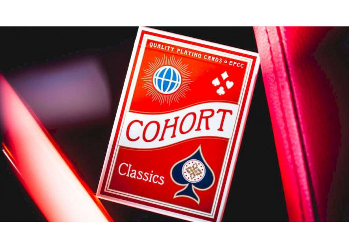 Карты игральные Ellusionist Cohort Marked deck (red)