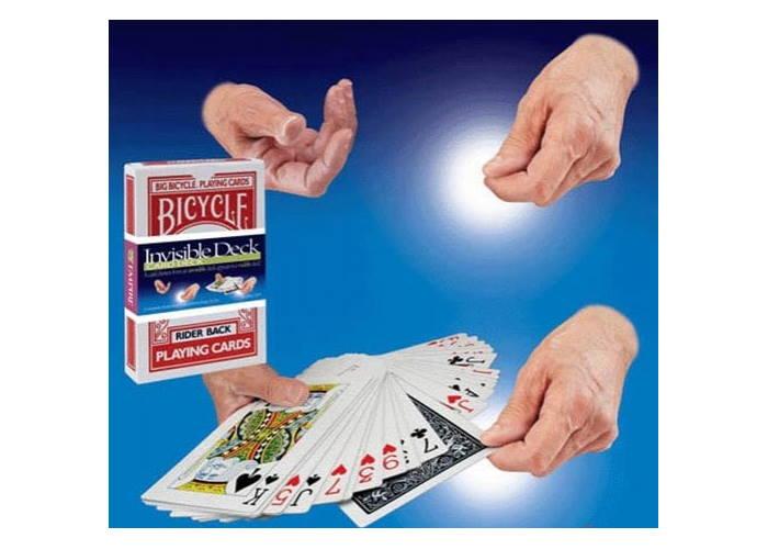Карты для фокусов Bicycle Joker Magic Invisible Deck