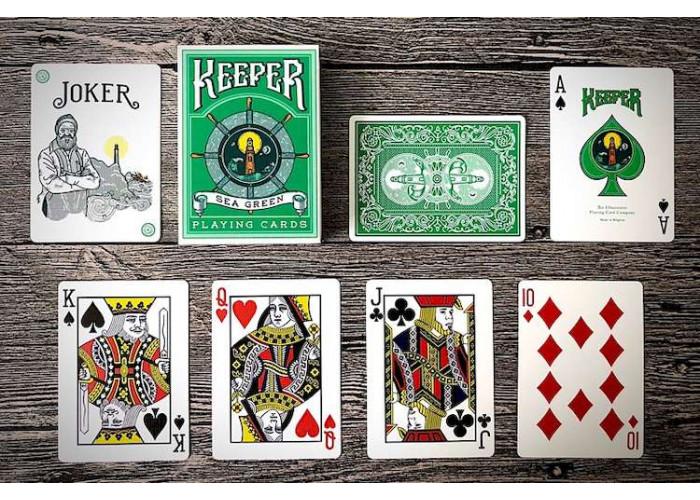 Карты игральные Ellusionist Keepers (green)