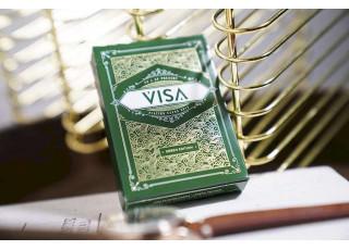 Карты игральные Visa (green)