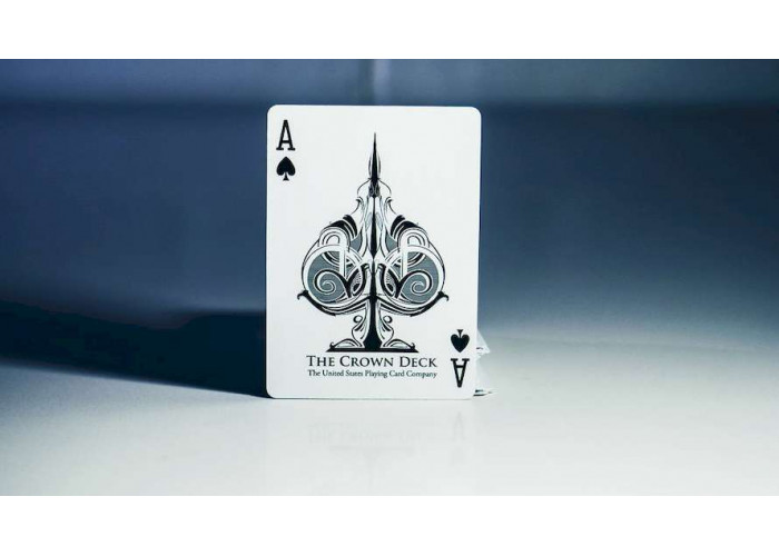 Карты игральные Crown Deck Snow (limited edition)