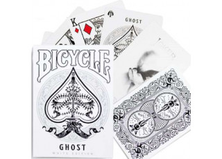 Карты игральные Bicycle Ghost (White edition)