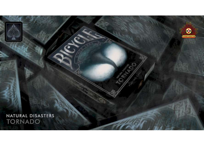 Карты игральные Bicycle Natural Disasters - Tornado