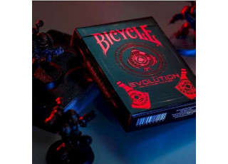 Карты игральные Bicycle Evolution (limited edition) (red)