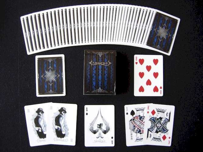 Карты игральные Ellusionist Artifice Mini Deck (blue)