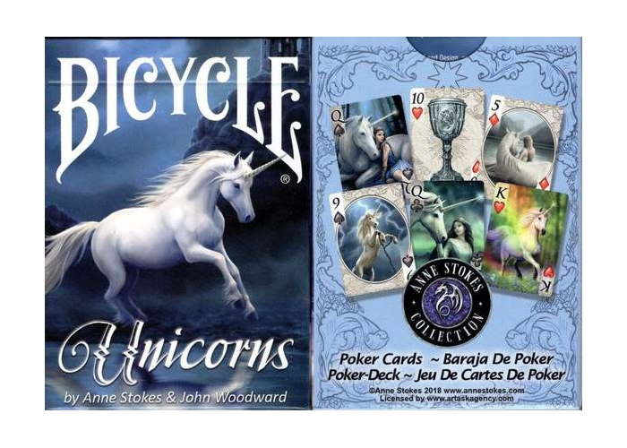 Карты игральные Bicycle Anne Stoke Unicorn