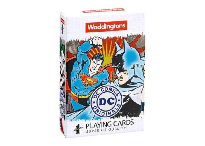 Карты игральные Waddingtons - DC Comics Retro