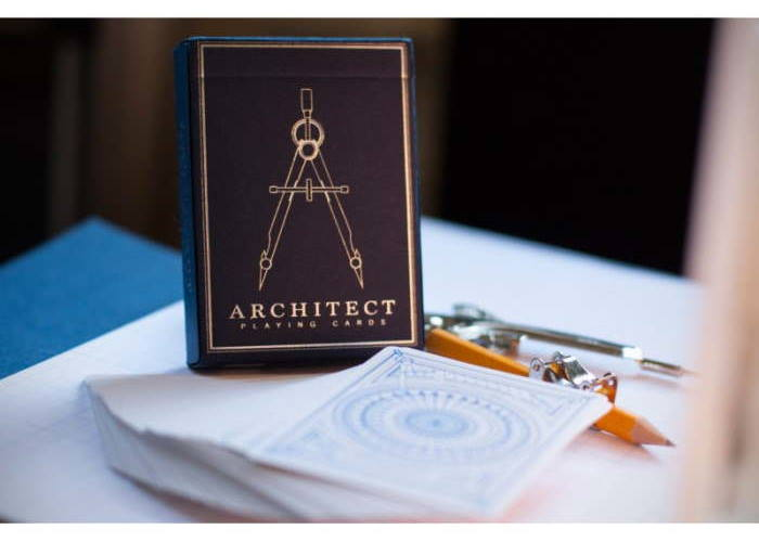 Карты игральные Expert Playing Cards Architect