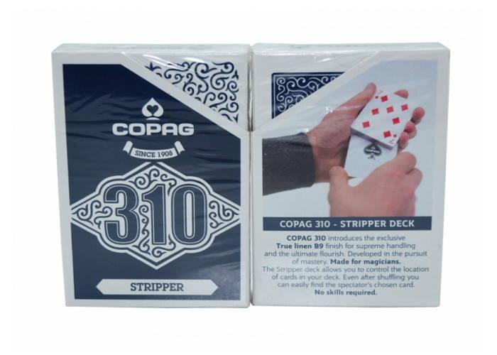 Карты для фокусов Cartamundi Copag 310 Stripper Deck