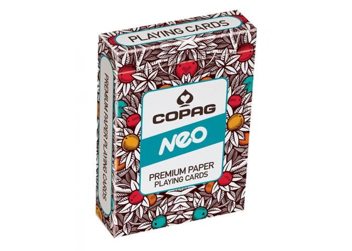 Карты игральные Cartamundi Copag Neo Premium paper (yellow, blue, red)