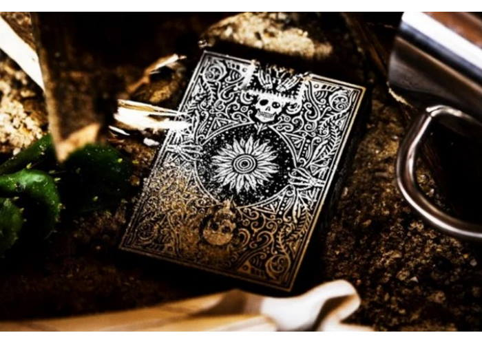 Карты игральные Ellusionist Disparos Tequila (black)