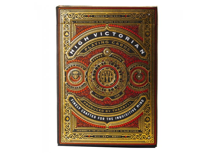 Карты игральные Theory11 High Victorian (red)