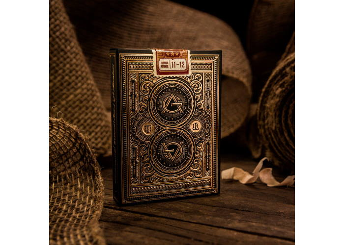 Карты игральные Theory11 Artisans Black edition
