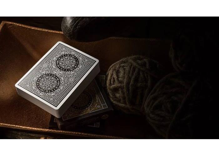 Карты игральные Theory11 Tycoon (black)