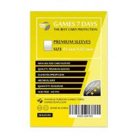 Протекторы для карт Games7Days (41 х 63 мм, Mini USA, 50 шт.) (PREMIUM)