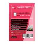Протекторы для карт Games7Days (43 х 65 мм, Mini Chimera, 100 шт.) (STANDART)