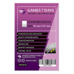 Протекторы для карт Games7Days (56 х 87 мм, Standard USA, 100 шт.) (STANDART)