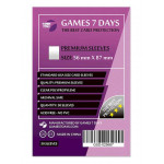 Протекторы для карт Games7Days (56 х 87 мм, Standard USA, 50 шт.) (PREMIUM)