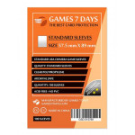 Протекторы для карт Games7Days (57,5 х 89 мм, Standard USA Chimera, 100 шт.) (STANDART)