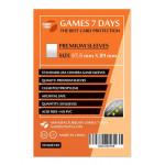 Протекторы для карт Games7Days (57,5 х 89 мм, Standard USA Chimera, 50 шт.) (PREMIUM)