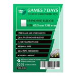 Протекторы для карт Games7Days (63,5 х 88 мм, Card Game, 100 шт.) (STANDART)