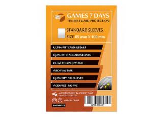 Протекторы для карт Games7Days (65 х 100 мм, Magnum, 100 шт.) (STANDART)
