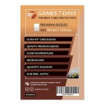 Протекторы для карт Games7Days (80 х 120 мм, Ultra-Fit, 50 шт.) (PREMIUM)