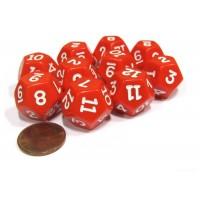 Кубик D12 (красный)