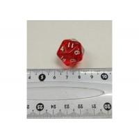 Кубик D20 (красный)