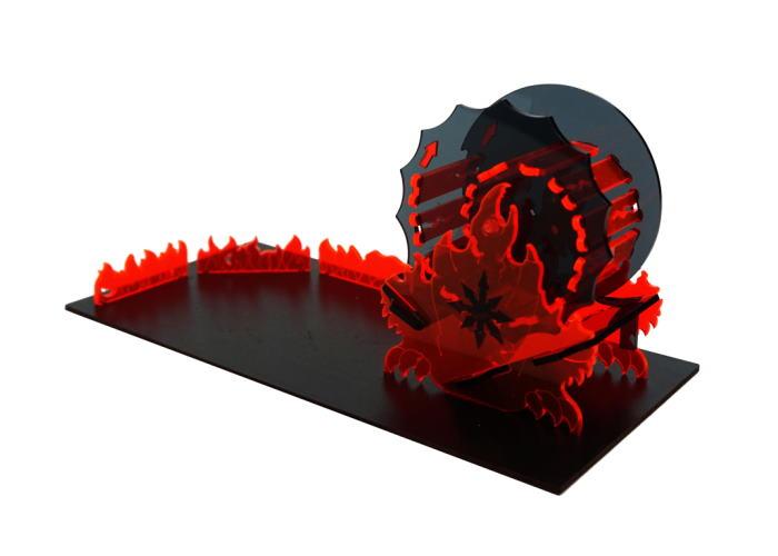 "Башня для бросания кубиков ""Пламя Хаоса"" (Dice Tower: Chaos Flame)"