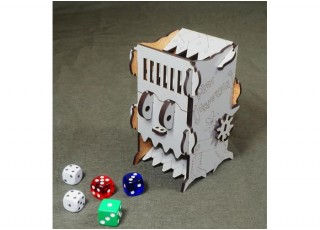"""Башня для бросания кубиков """"Сокрушитель кубиков"""" (Mechanical Dice Tower: Dice Crusher)"""