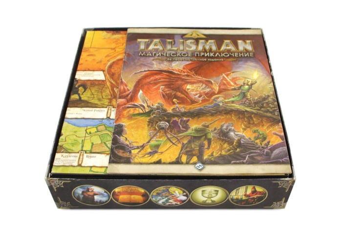 Органайзер МДФ: Талисман + дополнения (Talisman: Revised 4th Edition + expansions)