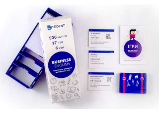 Карточки для изучения бизнес английского языка English Student Bussiness English