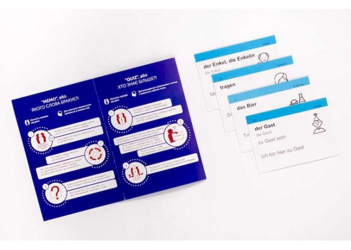 Карточки для изучения немецкого языка Для начинающих English Student A1