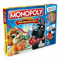 Монополия Юниор с банковскими карточками (Monopoly Junior Electronic Banking)