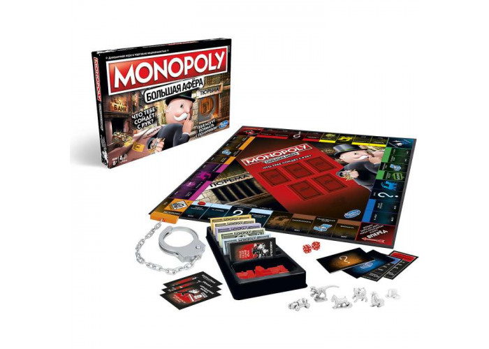 Монополия. Большая афёра (Monopoly: Cheaters Edition)