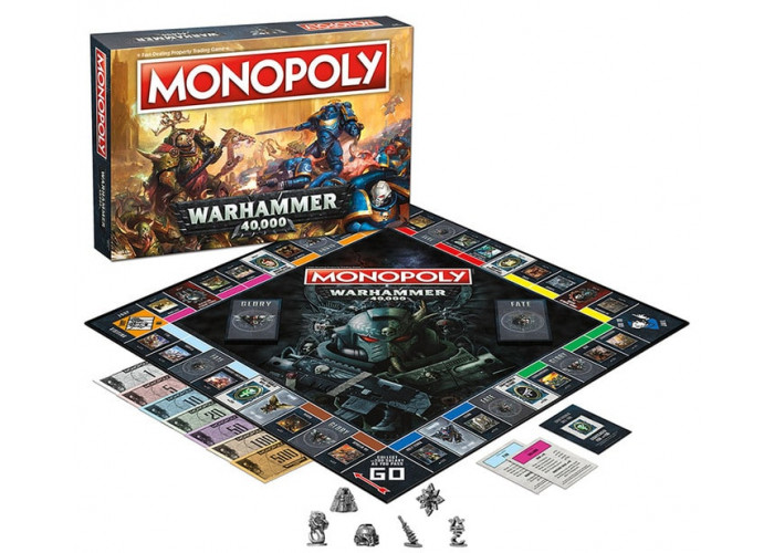 Монополия: Вархаммер 40000 (Monopoly Warhammer 40K)