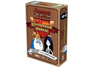 Время приключений Карточные войны: Снежный Король против Марселин (Adventure Time Сard Wars: Ice King Vs. Marceline)