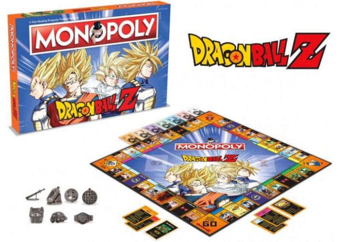 Монополия: Драконий жемчуг Зет (Monopoly Dragon Ball Z)