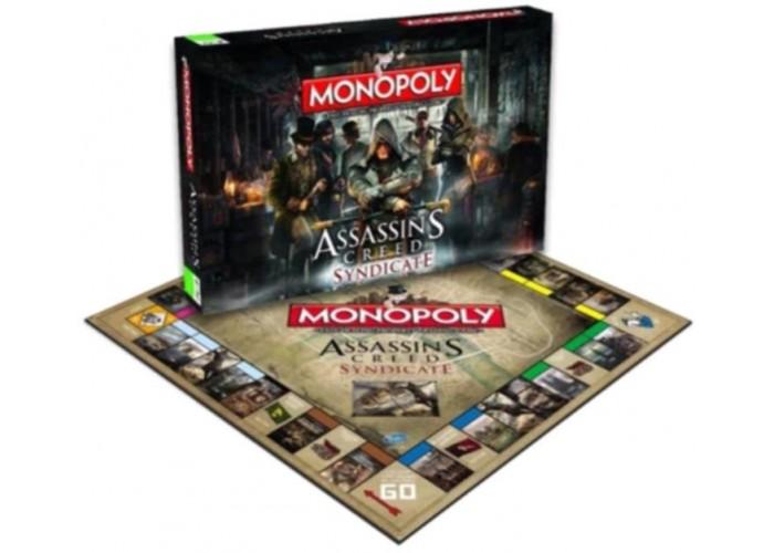 Монополия: Кредо Ассасина: Синдикат (Monopoly Assassin's Creed Syndicate)