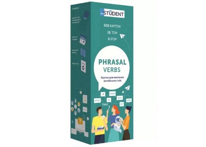 Карточки для изучения английского языка English Student Phrasal Verbs (укр.)