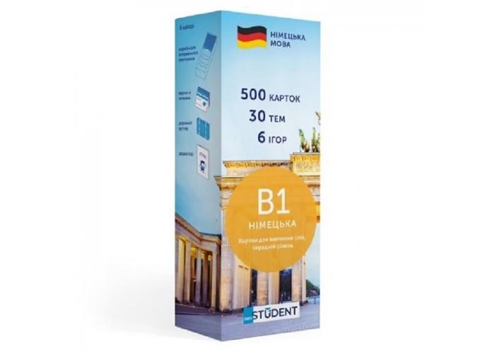 Карточки для изучения немецкого языка English Student Intermediate B1 (укр.)