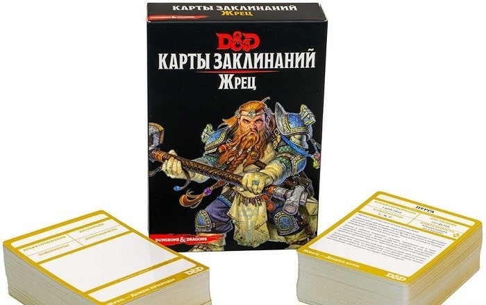 Dungeons & Dragons. Карты заклинаний. Жрец (Dungeons & Dragons. Spellbook Cards: Cleric Deck)