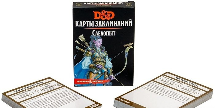 Dungeons & Dragons. Карты заклинаний. Следопыт (Dungeons & Dragons. Spellbook Cards: Ranger Deck)