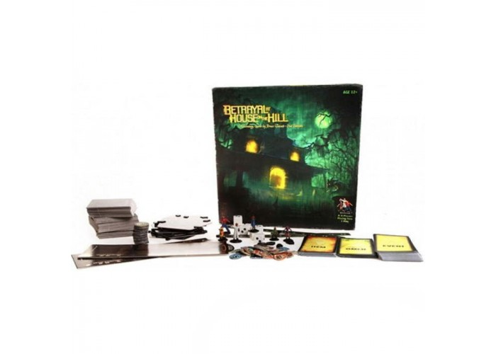 Предательство в доме на холме (2-е изд.) (Avalon Hill: Betrayal at House on the Hill, 2nd Ed.)