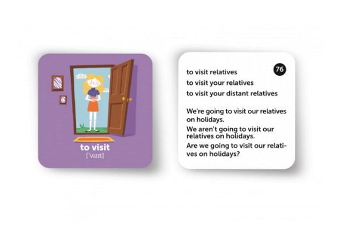 Карточки для изучения английского языка согласно программе МОН English Student. Праздники и традиции (укр.)