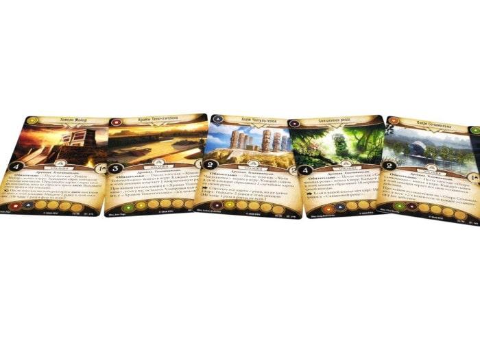 Ужас Аркхэма. Карточная игра: Забытая Эпоха. Потусторонний предел (Arkham Horror: The Card Game – The Forgotten Age, The Boundary Beyond)